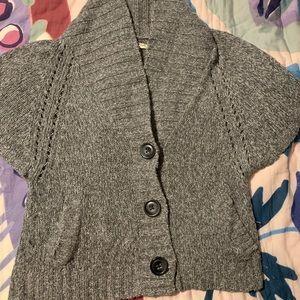 Old navy short sleeve cardigan sweater